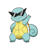 Chibi Squirtle by myooomy