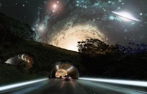 Space Tunnel Fantasy by iHeartManipulations
