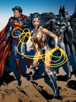 The DC Comics Trinity Final by gemgfx