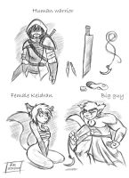 TwoKinds Concept Art No 3 by jim-shadow