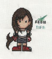 Tifa in Stitches by gatchacaz