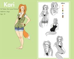 New Kari reference by Stripesandstars