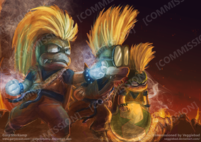 Super Saiyan Koopas - Commission by GaryStorkamp