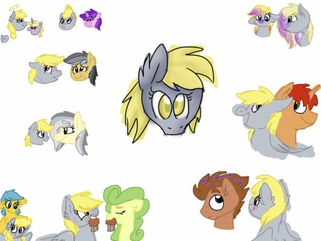 Derpy Dependants by trottyhoof