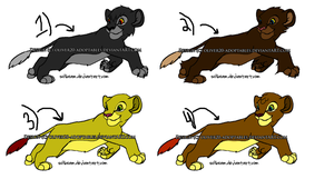 More Lions ... -OPEN- by oliver20-adoptables