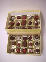 Love n' Roses Chocolate Beads by KimsButterflyGarden