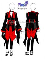 Shinagami Suit Male Version by eitho
