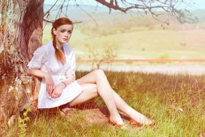 Pin-up style by a-blurred-vision