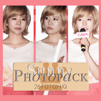 Photopack Sunny- SNSD 014 by DiamondPhotopacks