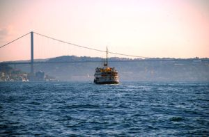 Bosphorus ferry by ozycan