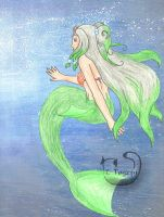 YWiMC - Droplet mermaid by mene
