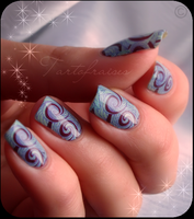 water decals blue by Tartofraises