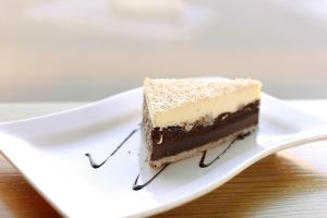 coconut mousse cake by MinhVisual