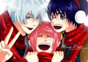 Merry Xmas -gintama- by rox-chan
