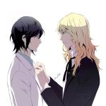 Noblesse: Frankenstein serving his master by camellia029