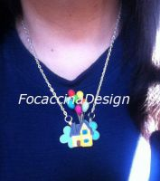 Necklace inspired by animated film UP by MGFM