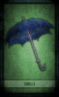 Madness Returns Tarot :: Umbrella by Vanyanie