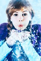 Anna Cosplay - Will you taw my frozen heart? by UnisonCosplayers