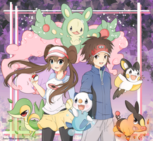 .Pokemon BW 2. by lNeko-Hime