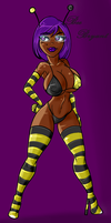 HoneyBee - Colored by Trancua by MDFive-Art