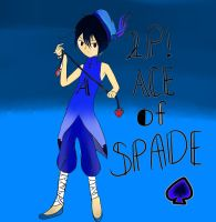 2P!APH Ace of Spade by pallaza