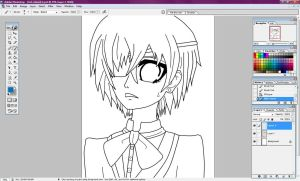 My First Lineart by Vocaloidstars
