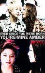 KRYBERISM4: YOU'RE MINE AMBER. by Amberfied