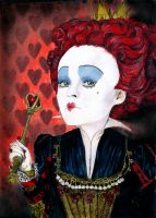 alice in wonderland: red queen by chemcial23