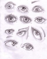 study of eyes by paddy852