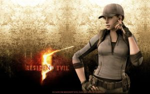 Re5 Jill Valentine Wallpaper by kaoyon