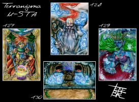 Terranigma ACEO-Cards by 1000Dreams