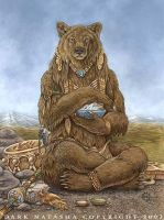 Medicine Bear by darknatasha