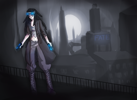 Art Trade: Fate by Sophalone