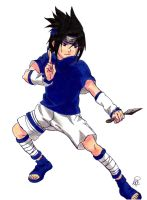 Sasuke Uchiha  #19 Request by MetalDBN