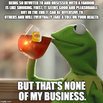 Kermit the Frog: Fandoms Are Like Smoking by MrAngryDog