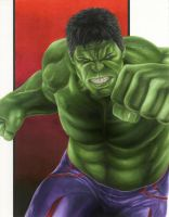 Age of Ultron: Hulk by smlshin