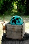 Minecraft Creeper Ball by AngryMermaid