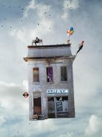 Flying House by ZBNs