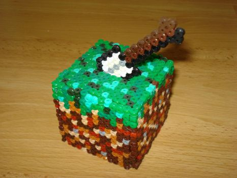 minecraft cube by Xinmai
