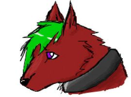 Iscribble Wolf 2 by XxMaz-AlmightyxX