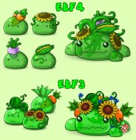 EBF4: Green Slimes by KupoGames