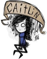 Caitlin, the Ophelia  -  Don't Starve by Patriarachnid