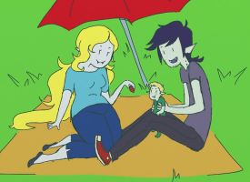 Picnic Time by Itaweasel-hime
