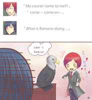 [HomeComingDoveProject]first day of Ramonn pt.1 by alexghostsan