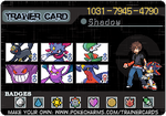 Shadow's Trainer ID by shadowscarx