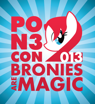 PON3 Con 2013 Logo by Smashinator