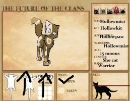 The Future of the Clans: Hollowmist by GiggleKittyx3