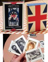 The Who: Playing Cards by LuckyFudge