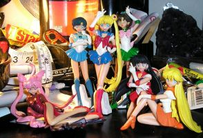 Sailor Moon Gashapon Set 01 by StariaChiba