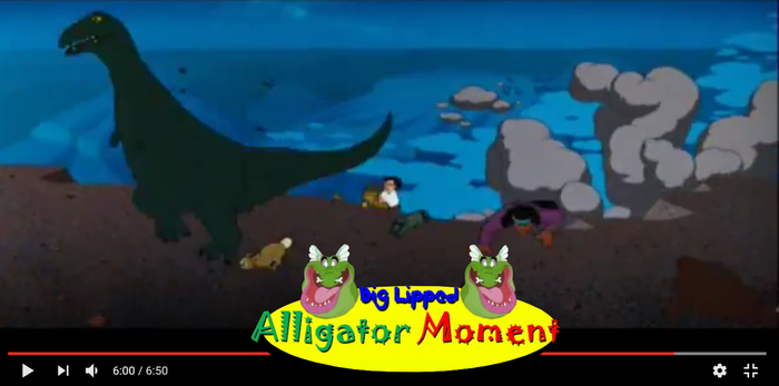 Big Lipped Alligator Moment All Dogs Go To Heaven